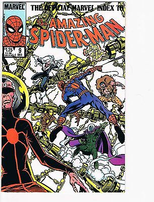 The Official Marvel Index To The Amazing Spider-Man   # 9 VG 4.0