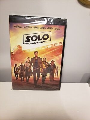 Solo A Star Wars Story 2018 DVD Movie New Sealed