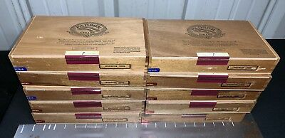Padron 2000 Empty Wooden Cigar Boxes LOT OF 10! A