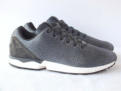 fcfa23b16 Adidas Original ZX Flux Carbon Black Men s Running Shoes B34485 SIze 12 US