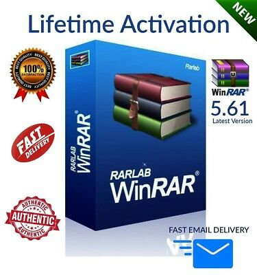 WinRar 5.61 Latest Version LIFETIME ACTIVATION 🔥FAST EMAIL DELIVERY🔥📩