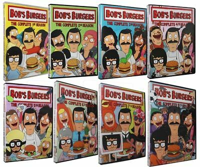 Bob's Burgers TV Series Complete All Seasons 1-8 DVD Set Collection Episode Show