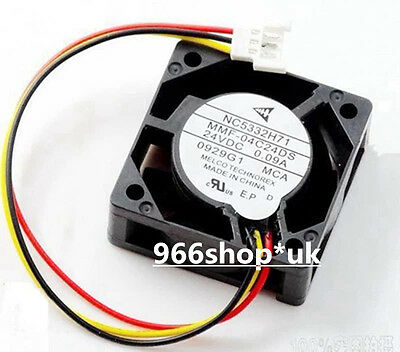 Original For MITSUBISHI NC5332H71 MMF-04C24DS-MCA Fan 40mm x15mm 24V 0.09A