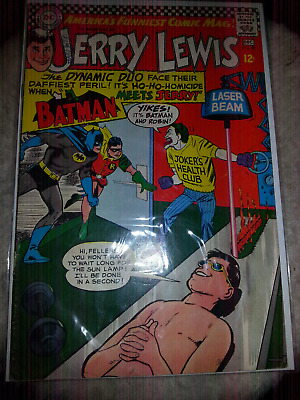 DC Comic Book The Adventures of Jerry Lewis Batman Meets Jerry Nov-Dec 1967 #97