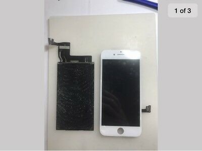 iphone 7plus Cracked glass screen repair refurbish serivce