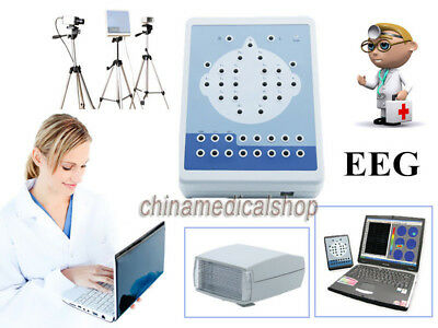 EEG holter 16 Channels + video system Brain Electric Activity Mapping 2 Tripods