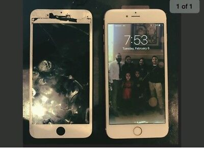 iPhone 6 Plus Cracked Glass Broken Screen Repair Service OEM