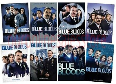 Blue Bloods Complete Tom TV Series All Seasons 1-8 DVD Collection Episodes Show