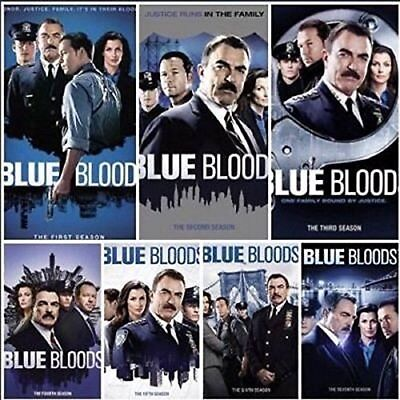 Blue Bloods Complete Tom TV Series All 1-7 Seasons DVD Collection Episodes Show
