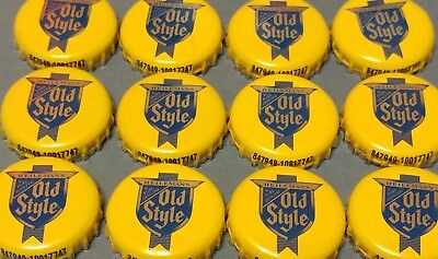 20 Used Heileman's Old Style Beer Bottle Caps Lot In Good Condition No Dents