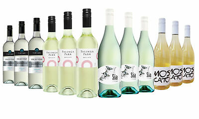 Australia Day Varietal Moscato Mixed White Wine Mixed 12x750ml Free Shipping