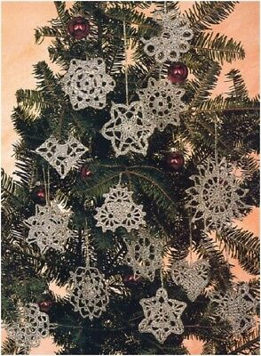 Crochet Pattern for Fourteen Designs of Christmas Tree Decorations 1196/45 - 58