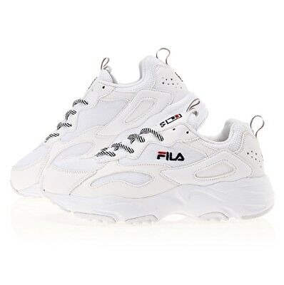 d467934cf17b New FILA Ray Tracer Men s Disruptor Sneakers Shoes - White(FS1SIA3130X)