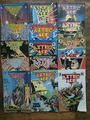Aztec Ace #s 1-15, Complete Series,Moench,Eclipse-VF/NM,Combined Shipping!