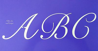 3 inch Caps ONLY Monogram Alphabet Stencil sets  *Free gift with order*
