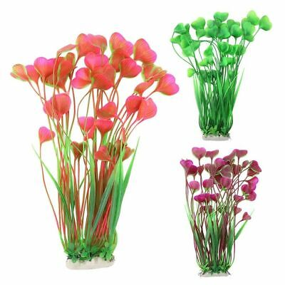 Hot New Artificial Water Plants For Fish Tank Plastic Aquarium Decor Ornament