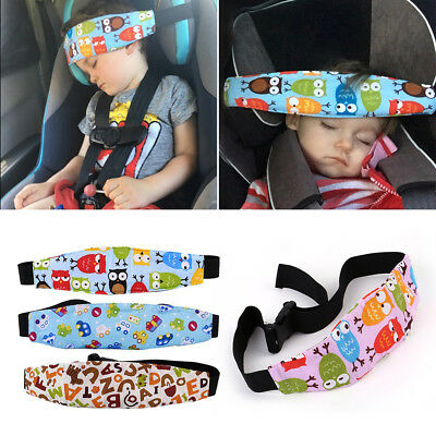 Baby Car Seat Safety Headrest Pillow Sleeping Head Support Pad For Child Travel
