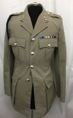 """ROYAL SIGNALS CAPTAINS NO.4 DRESS JACKET - Chest: 40"""" , British Army Issue"""