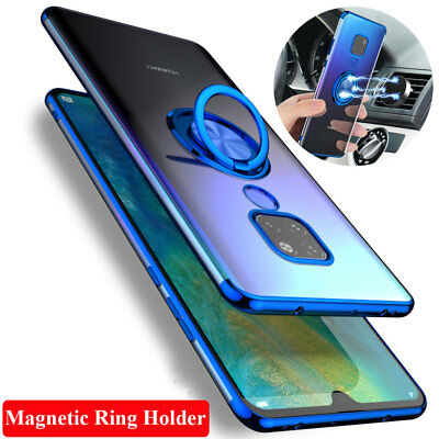 Luxury Slim Magnetic Ring Stand Holder Case Cover for Huawei Mate20 P20 Pro/Lite