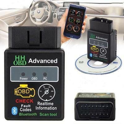 ELM327 OBDII OBD2 Bluetooth WIFI Car Scanner Scan Tool Torque Android IOS iPhone