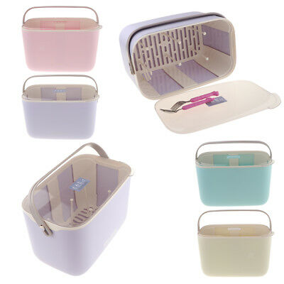 Bottle Drying Racks Anti-dust Storage Box Baby Dinnerware Organizer