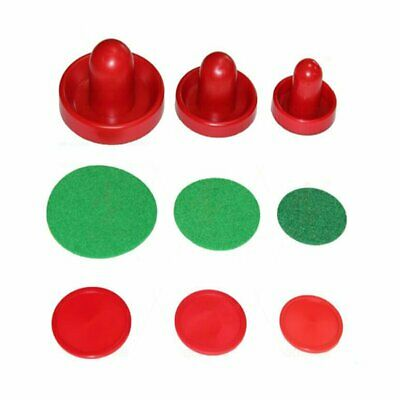 Air Hockey Pusher & Puck Set - Felt on the Bottom Holiday gifts toys WT