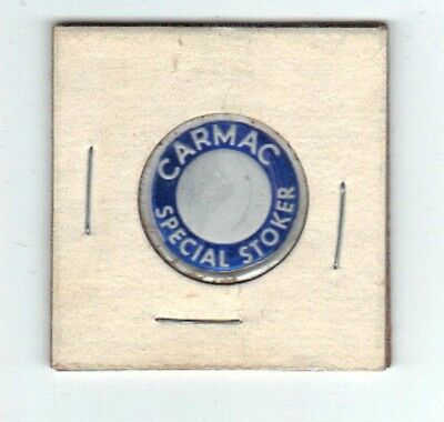 """A COAL MINE SCATTER TAG """" CARMAC """"  A GREAT TAG IN 2 x 2 HOLDER ! 1 OF 3 !!!!!!"""