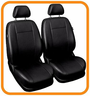 Leatherette tailored front seat covers for Volkswagen VW CADDY 2007 1+1