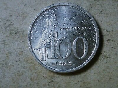 Indonesia 100 rupiah 1999 Cocktatoo bird