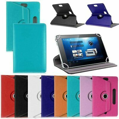 """Universal Leather Flip Case For Samsung Galaxy Tab A A6 7"""" ~ 10.1"""" Tablet PC WT"""