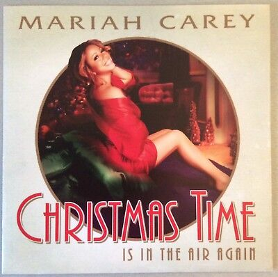 "MARIAH CAREY / JOHN LEGEND -  CHRISTMAS 7"" vinyl Record Single 45- X-Mas Promo"