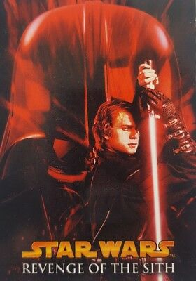 Star Wars Episode 3 REVENGE OF THE SITH Trading card Set of  90 TOPPS 2005