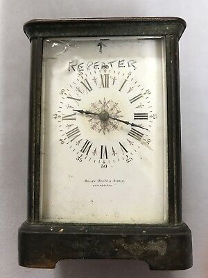Carriage Clock REPEATER antique French