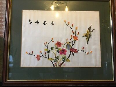 Lovely Chinese Silk Picture