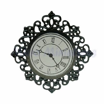 Dolls House Wall Clock 1/12th Scale (01144)