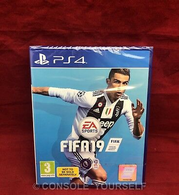 Fifa 19 - 2019 - Bundle Copy - Brand New Sealed - Playstation 4 Ps4 - Pal