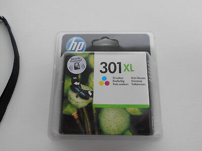Genuine HP 301XL colour ink cartridge