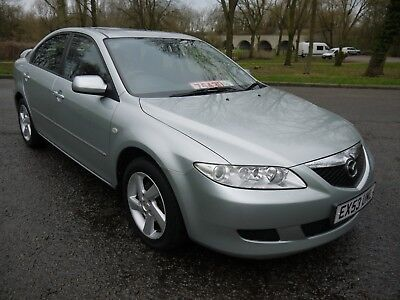 2003(53) Mazda 6 2.0 Ts2 5Dr 53K Low Miles Metallic Silver 11 Services In Book..