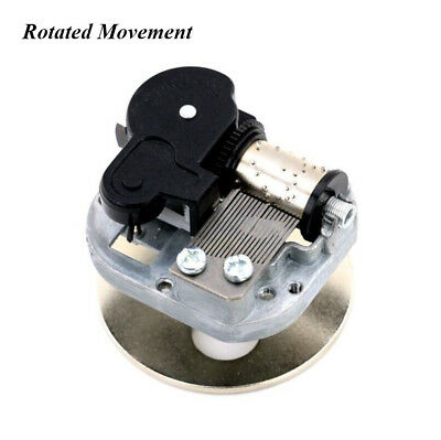 Rotated Wind Up Musical Movement With 10 Melodies Choice For DIY Music Box Xmas