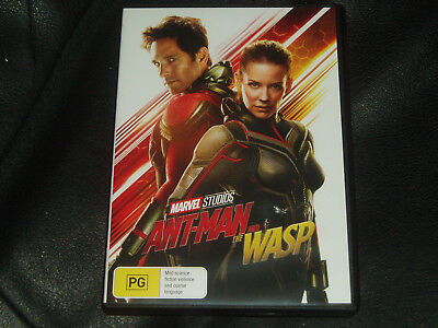 DVD Movie Marvel's Ant-Man and the Wasp Reg 4