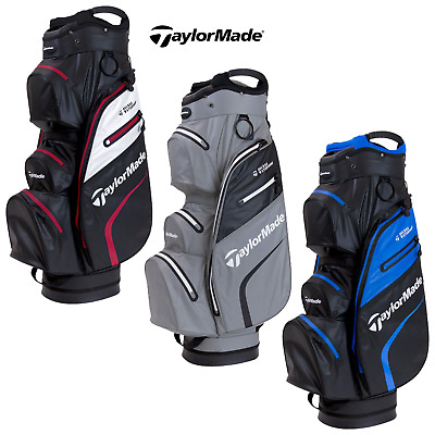 2019 TaylorMade DELUXE WATERPROOF Cart Bag (in 4 colours) - New