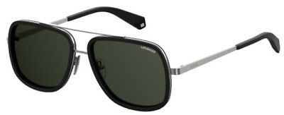 3e4fb5c5dd POLAROID SUNGLASSES PLD 6033 S 807 M9 Black Grey Polarized -  56.00 ...