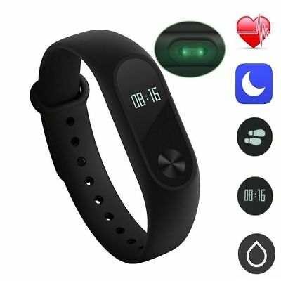 2018 Waterproof IP67 Band M2 Smart Watch Heart Rate Monitor Fitness Tracker SD