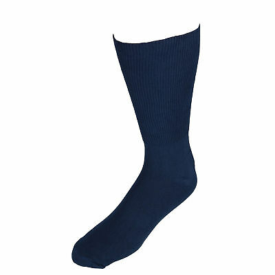 b29c4163a11a New Extra Wide Sock Co. Men's Cotton Wide Dress Socks (Big & Tall Available