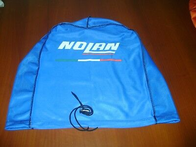 Motorcycle Helmet Bag Microfiber Nolan Helmet Bag Carry Helmet Duffle Blue