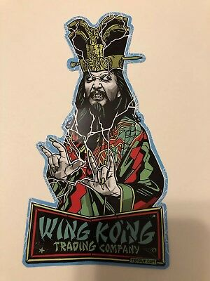 LO PAN Wing Kong Trading Company Big Trouble In Little China Sticker Tyler Stout
