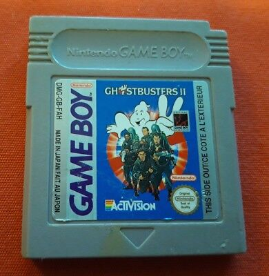 Ghostbusters 2 Ii Sos Fantomes Game Boy Gameboy Color Advance Gb Nintendo Pal Fa