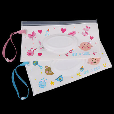 Eco-friendly clutch and clean wipes carrying case wet wipes bag cosmetic pouchLY