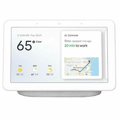 "Google Home Hub with Google Assistant Smart 7"" Display - Chalk Grey - GA00516-US"