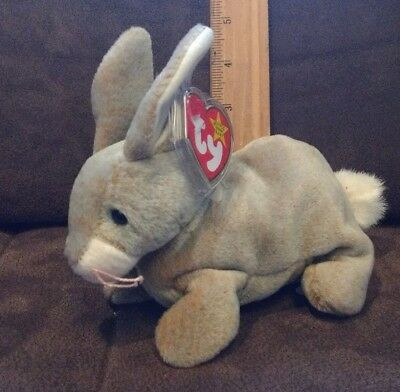 New Nibbly The Rabbit  By 1999 Ty Inc. The Beanie Babies Collection